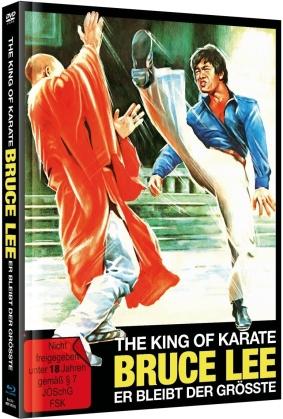 The King of Karate Bruce Lee - Er bleibt der Grösste (1975) (Cover B, Limited Edition, Mediabook, Blu-ray + DVD)