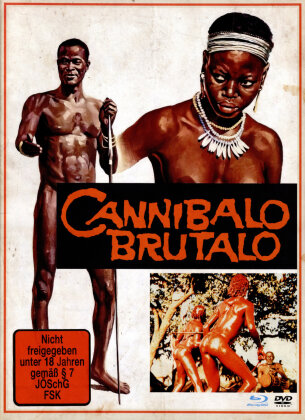 Cannibalo Brutalo (1978) (Cover B, Limited Edition, Mediabook, Blu-ray + DVD)