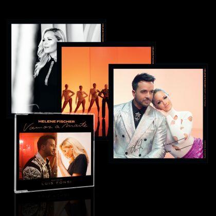 Helene Fischer feat. Luis Fonsi - Vamos a Marte (CD Single, + 3 Artprints, Box)