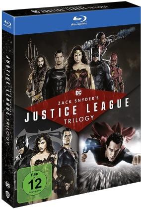 Zack Snyder's Justice League Trilogy (4 Blu-rays)