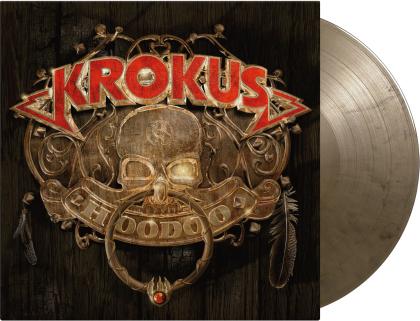 Krokus - Hoodoo (2021 Reissue, Music On Vinyl, Limited To 1500 Copies, Audiophile, Black & Gold Marbled Vinyl, LP)