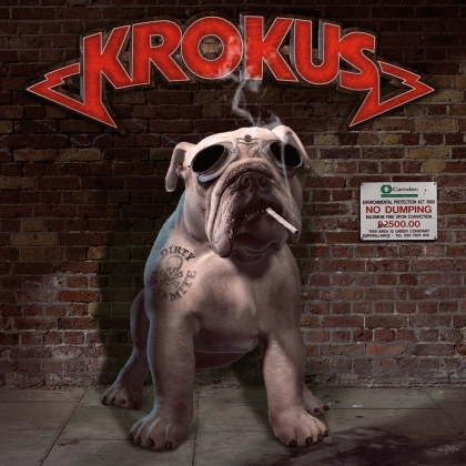 Krokus - Dirty Dynamite (Music On Vinyl, 2021 Reissue, Limited To 1500 Copies, Gatefold, Transparent Red Vinyl, 2 LPs)