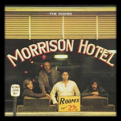 """The Doors: Morrison Hotel 12"""" Album Cover - Framed Print"""