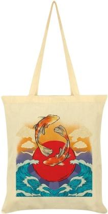 Koi Carp - Cream Tote Bag