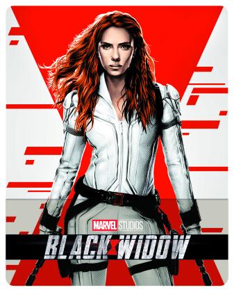 Black Widow (2021) (Limited Edition, Steelbook, 4K Ultra HD + Blu-ray)