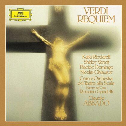 Giuseppe Verdi (1813-1901), Claudio Abbado, Katia Ricciarelli, Placido Domingo & Coro e Orchestra del Teatro alla Scala di Milano - Requiem (Japan Edition, 2 CDs)