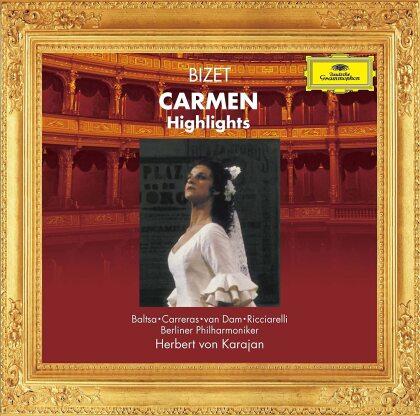 Georges Bizet (1838-1875), Herbert von Karajan, Jose van Dam, Katia Ricciarelli, Agnes Baltsa, … - Carmen (Highlights) (Japan Edition)