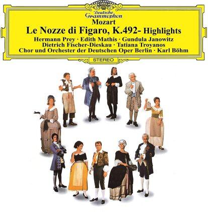 Wolfgang Amadeus Mozart (1756-1791), Karl Böhm, Edith Mathis, Gundula Janowitz, Hermann Prey, … - Le Nozze Di Figaro - Highlights (Japan Edition)