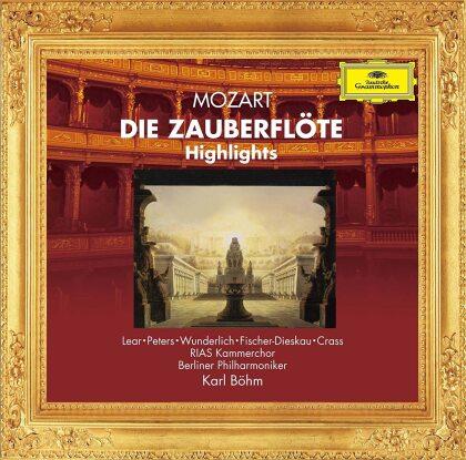 Karl Böhm, Fritz Wunderlich, Dietrich Fischer-Dieskau & Berliner Philharmoniker - Die Zauberflöte - Highlights (Japan Edition)