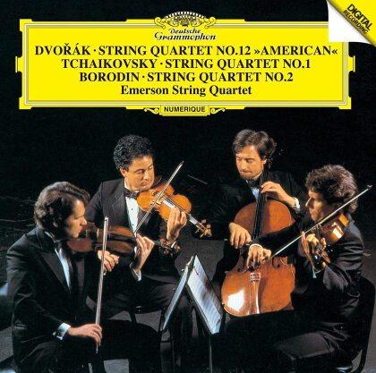 Emerson String Quartet, Antonin Dvorák (1841-1904), Peter Iljitsch Tschaikowsky (1840-1893) & Alexander Borodin (1833-1887) - String Quartets (Japan Edition)