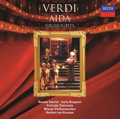 Herbert von Karajan, Giuseppe Verdi (1813-1901), Renata Tebaldi, Carlo Bergonzi & Wiener Philharmoniker - Aida - Highlights (Japan Edition)