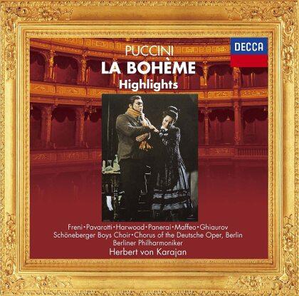 Herbert von Karajan, Giacomo Puccini (1858-1924), Mirella Freni, Luciano Pavarotti & Berliner Philharmoniker - La Boheme - Highlights (Japan Edition)