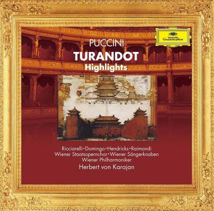 Herbert von Karajan, Giacomo Puccini (1858-1924), Katia Ricciarelli, Placido Domingo & Wiener Philharmoniker - Turandot - Highlights (Japan Edition)