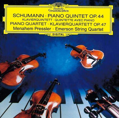 Robert Schumann (1810-1856), Menahem Pressler & Emerson String Quartet - Piano Quintet / Piano Quartet (Japan Edition)