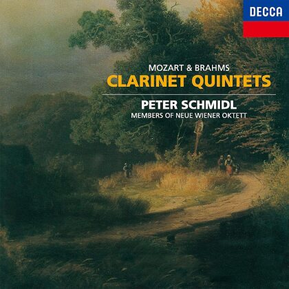 Wolfgang Amadeus Mozart (1756-1791), Johannes Brahms (1833-1897), Peter Schmidl & Members of Neue Wiener Oktett - Clarinet Quintets (Japan Edition)