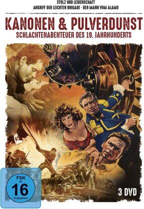Kanonen & Pulverdunst - Schlachtenabenteuer des 19. Jahrhunderts (3 DVDs)