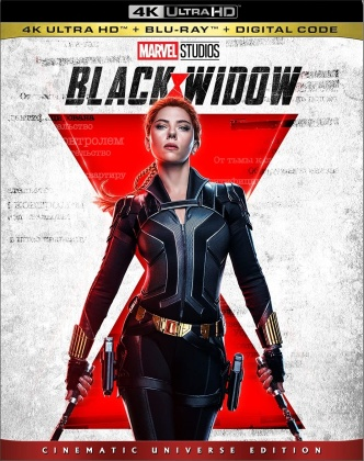 Black Widow (2021) (Cinematic Universe Edition, 4K Ultra HD + Blu-ray)
