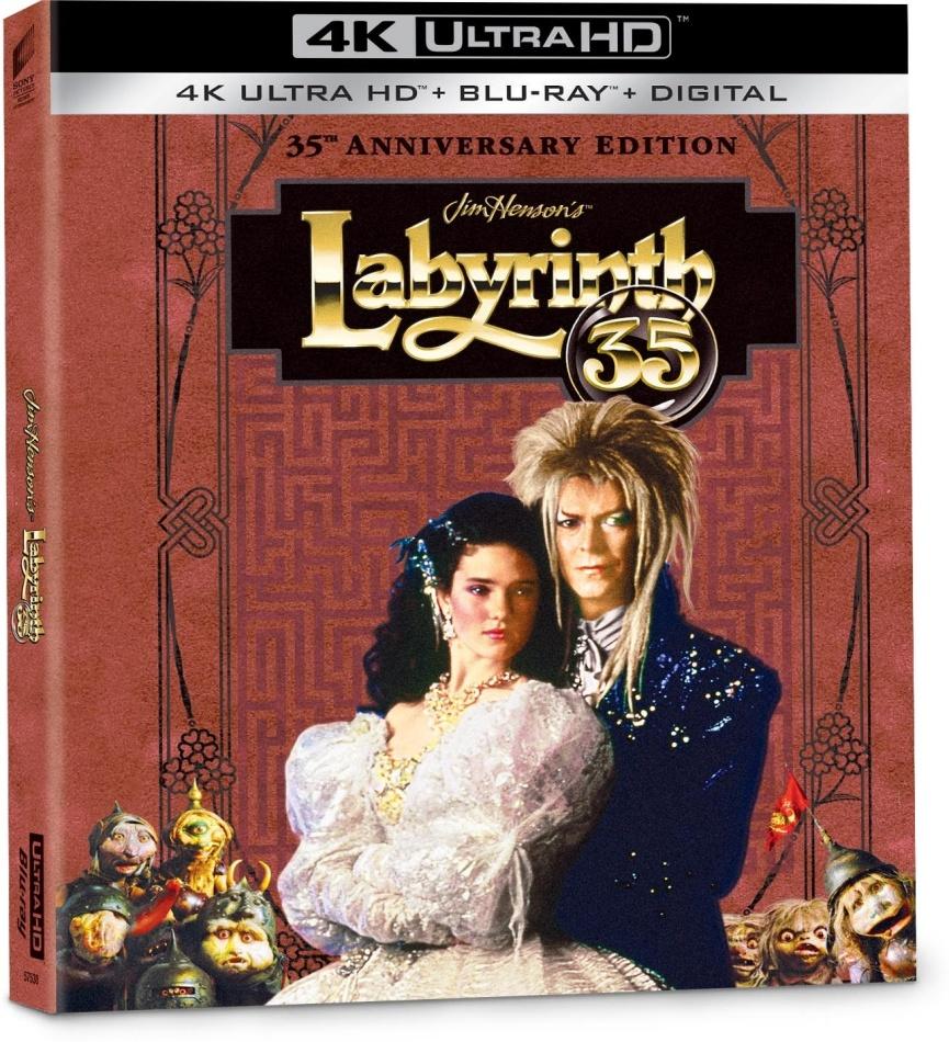 Labyrinth (1986) (Edizione 35° Anniversario, Digibook, 4K Ultra HD + Blu-ray)