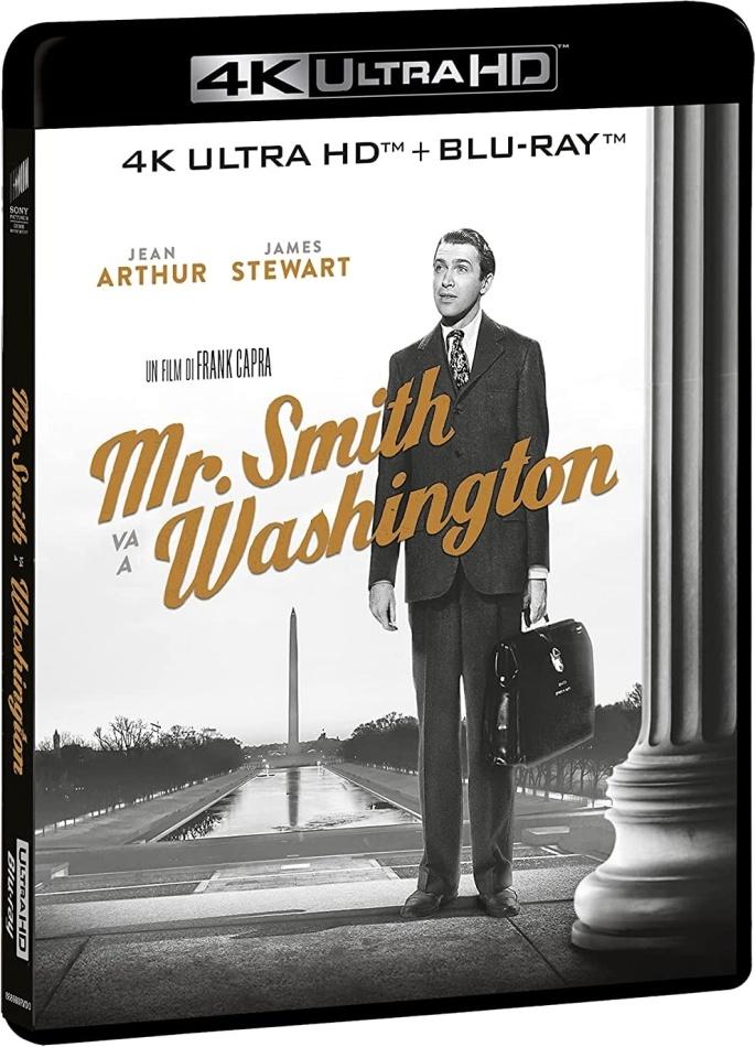 Mr. Smith va a Washington (1939) (s/w, 4K Ultra HD + Blu-ray)