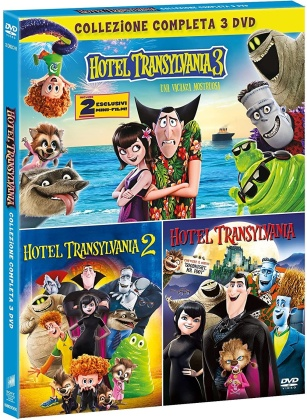 Hotel Transylvania 1-3 (Green Box Collection, 3 DVDs)