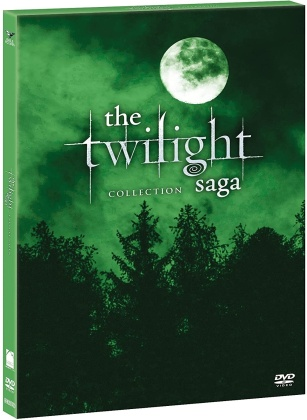 Twilight Saga Collection (Green Box Collection, 5 DVD)