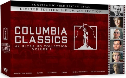 Columbia Classics Collection 2 (Box, 6 4K Ultra HDs + 8 Blu-rays)