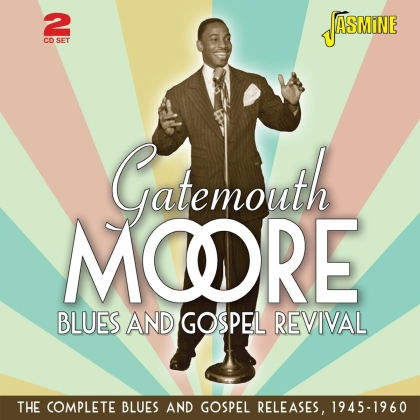 Gatemouth Moore - Blues And Gospel Revival (2 CDs)