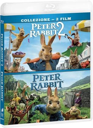 Peter Rabbit 1 & 2 (2 Blu-rays)
