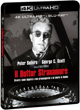 Il Dottor Stranamore (1964) (s/w, 4K Ultra HD + Blu-ray)