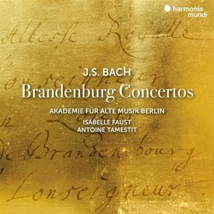 Akademie für Alte Musik Berlin, Johann Sebastian Bach (1685-1750), Isabelle Faust & Antoine Tamestit - Brandenburg Concertos (2 CDs)