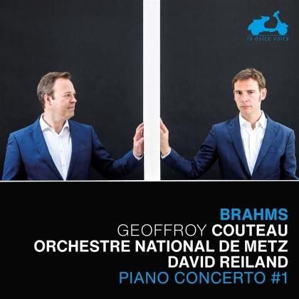 Orchestre National de Metz, Johannes Brahms (1833-1897), David Reiland & Geoffroy Couteau - Piano Concerto No. 1