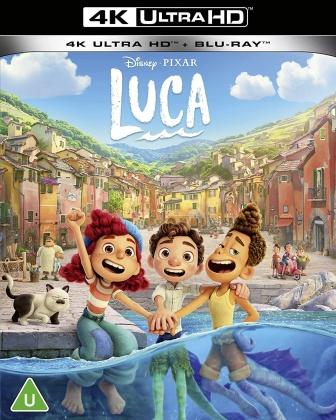 Luca (2021) (4K Ultra HD + Blu-ray)