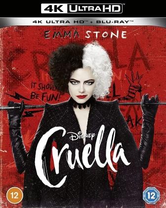 Cruella (2021) (4K Ultra HD + Blu-ray)