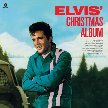 Elvis Presley - Elvis Christmas Album (2021 Reissue, Waxtime, Limited Edition, Colored, LP)