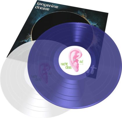 Tangerine Dream - Zeit (2021 Reissue, Blue & Translucent Vinyl, 2 LPs)
