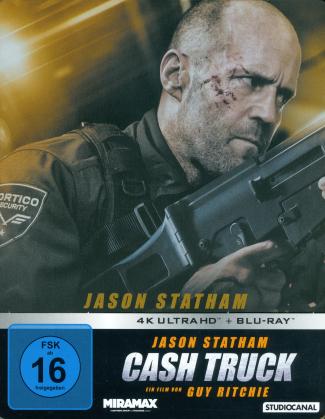 Cash Truck (2021) (Edizione Limitata, Steelbook, 4K Ultra HD + Blu-ray)