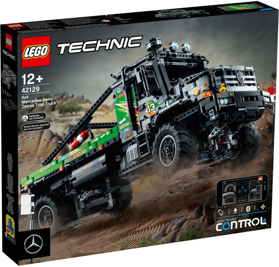 Mercedes-Benz Zetros 4x4 - Offroad-Truck, Lego Technic,