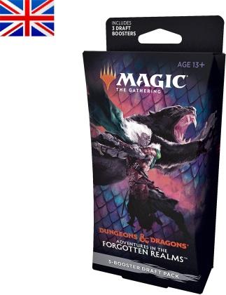 MTG - Draft Booster - Adventures in the Forgotten Realms - (1 pack de 3 boosters) - EN
