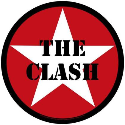 Clash, The - Star Logo Backpatch