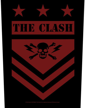 Clash, The - Military Shield (Backpatch)