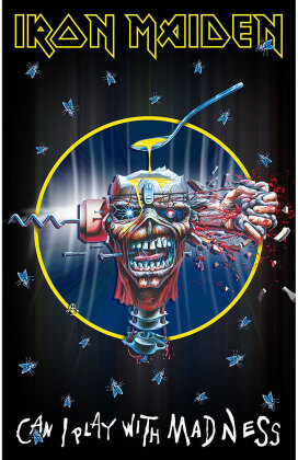 Iron Maiden - Can I Play With Madness Textil Poster