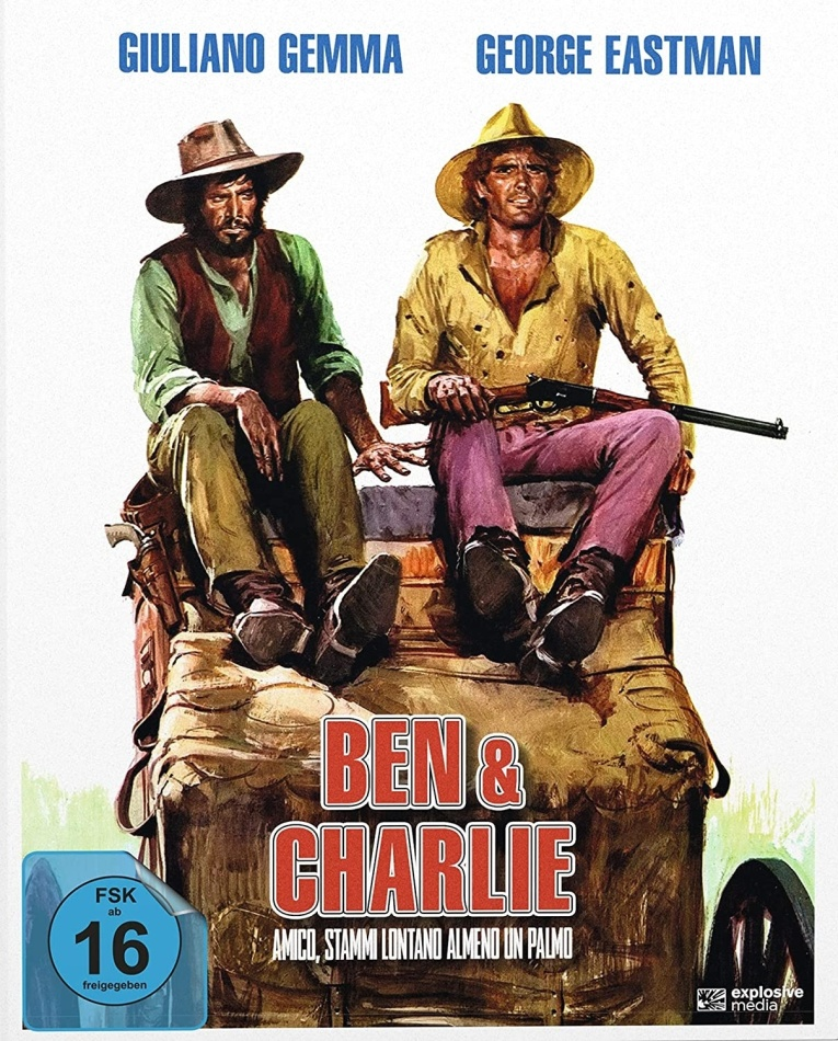 Ben & Charlie (1972) (Cover A, Mediabook, 2 Blu-ray)