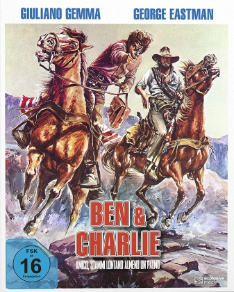 Ben & Charlie (1972) (Cover B, Mediabook, 2 Blu-rays)