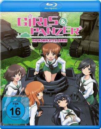 Girls & Panzer - Die komplette Serie (Volume 1-3 + OVA) (4 Blu-rays)