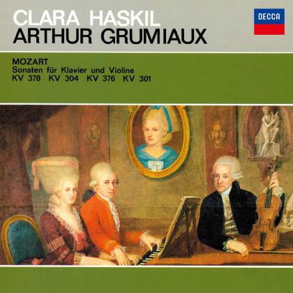 Wolfgang Amadeus Mozart (1756-1791), Arthur Grumiaux & Clara Haskil - Violin Sonatas K.378. 304. 376 & 301 (Japan Edition, SACD)