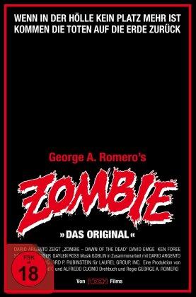 Zombie - Das Original (1978) (VHS Retro Edition, Cover A, 4K Ultra HD + 3 Blu-rays)