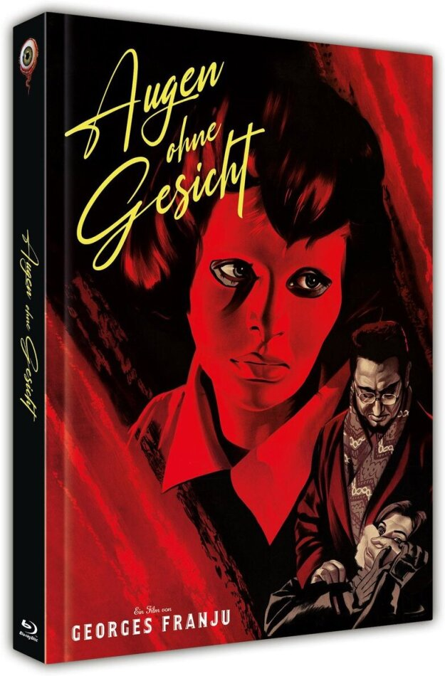 Augen ohne Gesicht (1959) (Cover C, s/w, Limited Collector's Edition, Mediabook, Blu-ray + DVD)