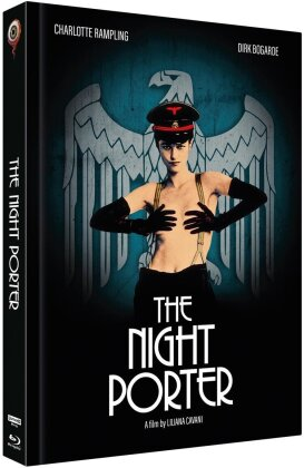 The Night Porter (1974) (Cover B, Limited Collector's Edition, Mediabook, Uncut, 4K Ultra HD + Blu-ray + DVD)