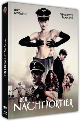 Der Nachtportier (1974) (Cover C, Limited Collector's Edition, Mediabook, Uncut, 4K Ultra HD + Blu-ray + DVD)