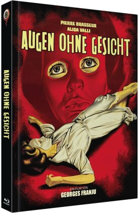 Augen ohne Gesicht (1959) (Cover A, s/w, Limited Collector's Edition, Mediabook, Blu-ray + DVD)